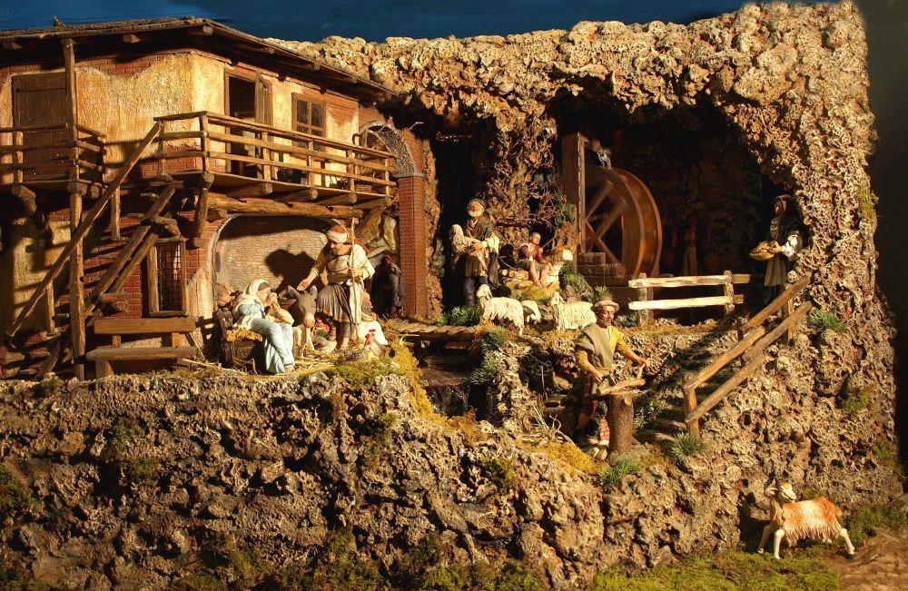 Jolly world christmas di cantamessi manuel produzione vendita ed allestimenti scenografie - Presepi fatti in casa ...